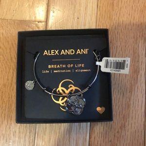 Alex and Ani breath of life bracelet